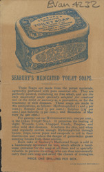 Advert for Seabury's Medicated Soap
